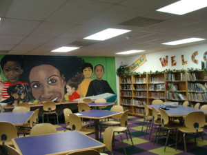 Reading Room at Boys and Girls Club of Rochester